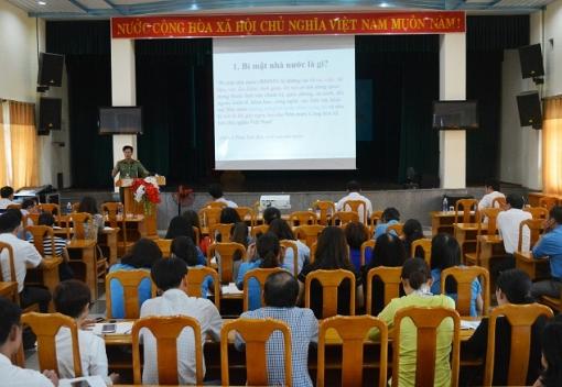 Hội nghị tập huấn công tác bảo vệ bí mật nhà nước