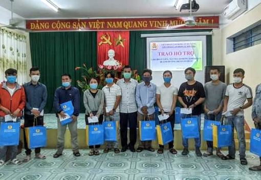 Hỗ trợ cho đoàn viên, CNVCLĐ quận Sơn Trà