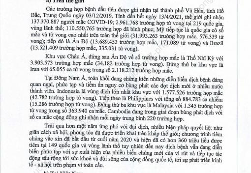 Kế hoạch số 75/KH-UBND ngày 19/4/2021 của UBND thành phố Đà Nẵng về phòng, chống dịch Covid-19 trên địa bàn thành phố Đà Nẵng năm 2021