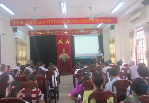 Hòa Vang: tập huấn công tác tổ chức Đại hội Công đoàn