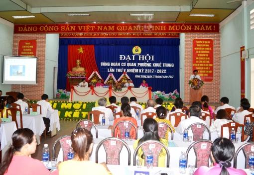 Đại hội điểm: Công đoàn cơ quan phường Khuê Trung, Cẩm Lệ
