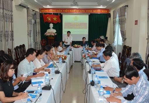 Liên đoàn Lao động TP Đà Nẵng tổ chức hội nghị lấy ý kiến sửa đổi, bổ sung Điều lệ Công đoàn Việt Nam