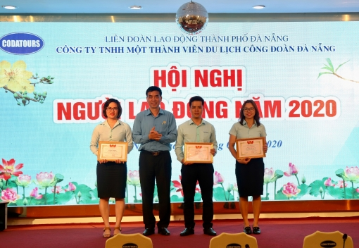 Công ty TNHH MTV Du lịch Công đoàn Đà Nẵng: Hội nghị người lao động năm 2020