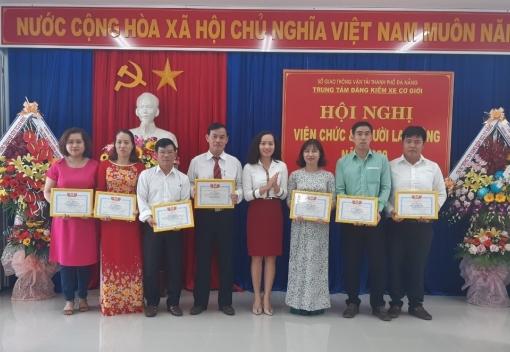 Hội nghị cán bộ, công chức, viên chức  Trung tâm Đăng kiểm xe cơ giới Đà Nẵng