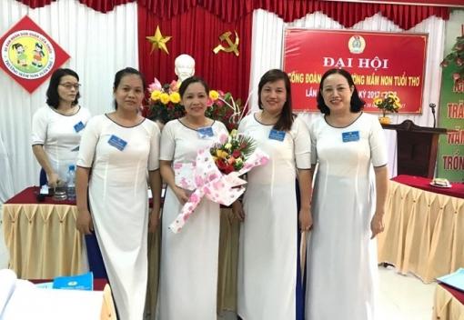 Công đoàn Trường Mầm non Tuổi Thơ tổ chức Đại hội lần thứ VIII