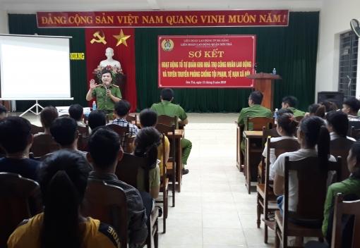 Sơn Trà: tuyên truyền pháp luật cho hơn 150 công nhân lao động