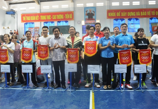 Sơn Trà: Giải thể thao CNVCLĐ quận năm 2019