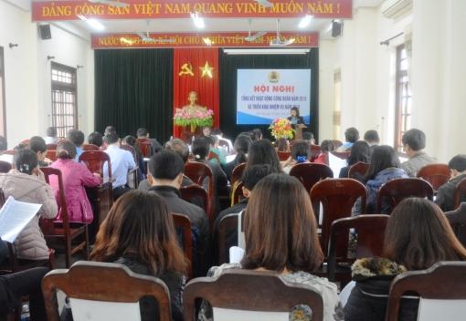 Hòa Vang: Tổng kết hoạt động Công đoàn năm 2018