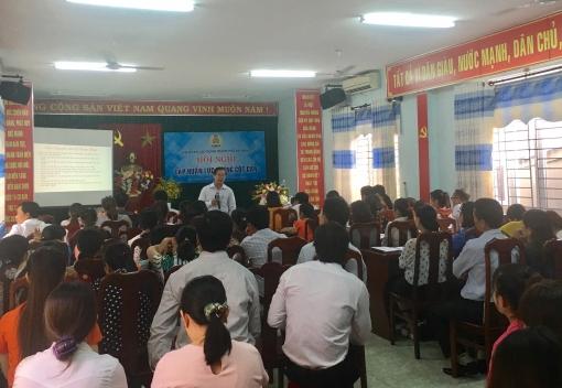 Cẩm Lệ: tổ chức hội nghị tập huấn lực lượng cốt cán