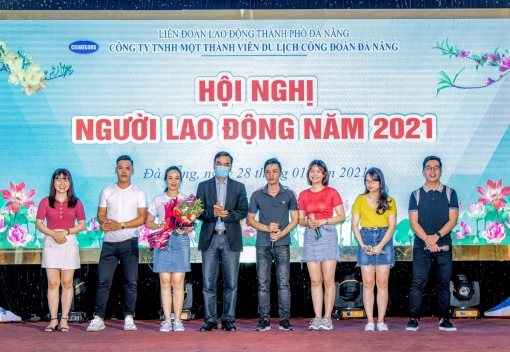 Công ty TNHH MTV Du lịch Công đoàn Đà Nẵng tổ chức hội nghị người lao động năm 2021