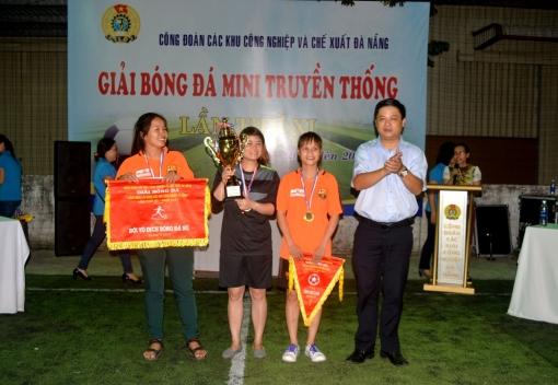 Công đoàn các KCN&CX: bế mạc Giải bóng đá CNLĐ lần thứ XI