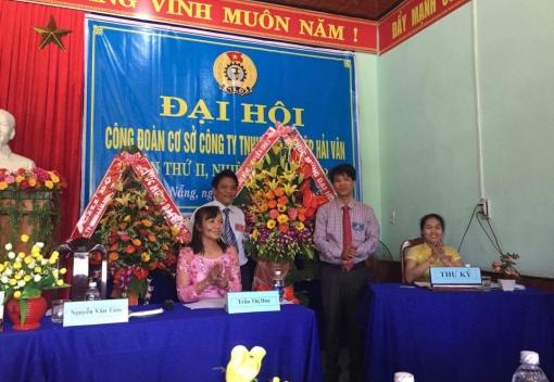 Liên Chiểu: Công ty TNHH Lâm nghiệp Hải Vân tổ chức Đại hội Công đoàn lần thứ II
