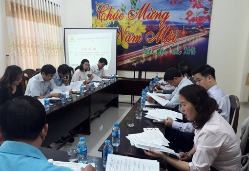 Liên Chiểu: Hội nghị Ban Chấp hành LĐLĐ quận lần thứ 2