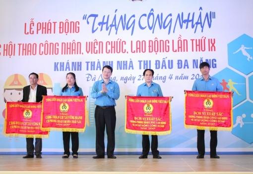 """CNVCLĐ thành phố Đà Nẵng tưng bừng trong ngày hội """"Tháng Công nhân"""" năm 2018"""