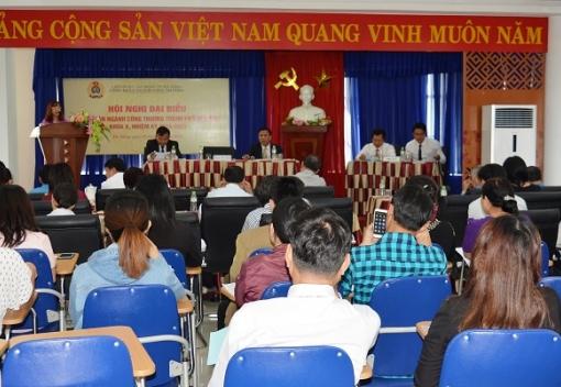Hội nghị đại biểu Công đoàn ngành Công Thương khóa X
