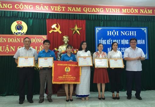 Cẩm Lệ:  Tổng kết hoạt động Công đoàn khối trường học