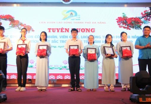 Lễ Tuyên dương, trao học bổng con CNVCLĐ có thành tích xuất sắc trong học tập