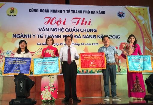 Bế mạc Hội thi văn nghệ quần chúng ngành Y tế thành phố Đà Nẵng năm 2016.