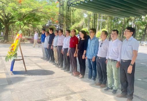 Công đoàn Trường CĐ Kinh tế - Kế hoạch dâng hương tưởng nhớ các anh hùng, liệt sỹ