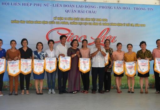 Hải Châu: Tổ chức Ngày hội giao lưu nhân Ngày Gia đình Việt Nam
