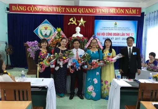 Liên Chiểu: Công đoàn Trường THCS Nguyễn Bỉnh Khiêm Đại hội lần thứ XVII