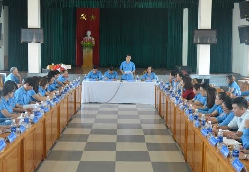 Hội nghị Ban Chấp hành LĐLĐ TP lần thứ 3 (Mở rộng)
