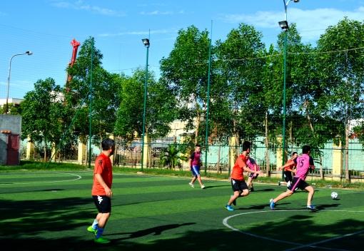 LĐLĐ quận Sơn Trà tổ chức Giải bóng đá mini