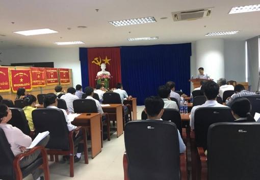 Công đoàn ngành Giao thông Vận tải Đà Nẵng tổ chức hội nghị giao ban qúy I/2017.