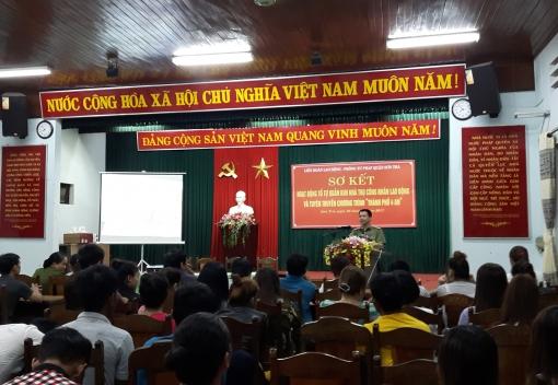 Sơ kết hoạt động Tổ công nhân tự quản khu nhà trọ
