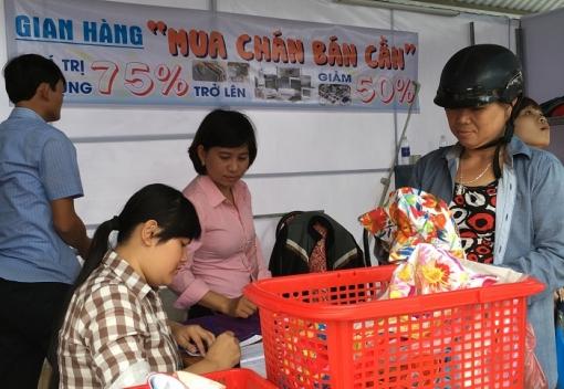 Đà Nẵng: Khai trương điểm bán hàng giá ưu đãi cho CNLĐ