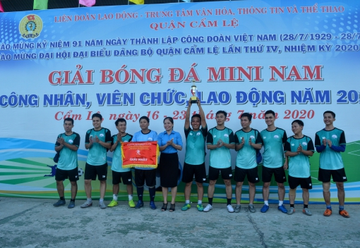 Cẩm Lệ: Bế mạc giải bóng đá mini nam CNVCLĐ năm 2020