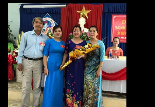 Liên Chiểu: Công đoàn Trường THCS Lê Anh Xuân Đại hội lần thứ VIII