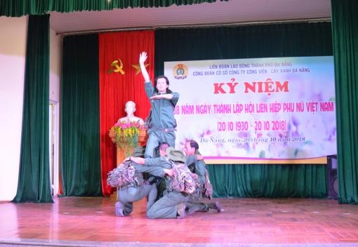 Công đoàn Công ty Công viên Cây xanh: tổ chức Lễ kỷ niệm nhân Ngày Phụ nữ Việt Nam 20/10