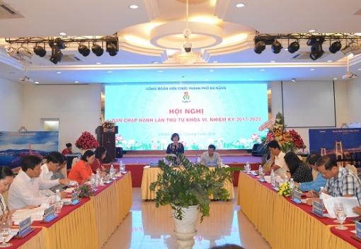 Hội nghị Ban Chấp hành Công đoàn Viên chức lần thứ 4.