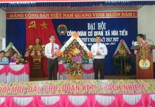 Hoà Vang: Đại hội điểm Công đoàn xã Hoà Tiến