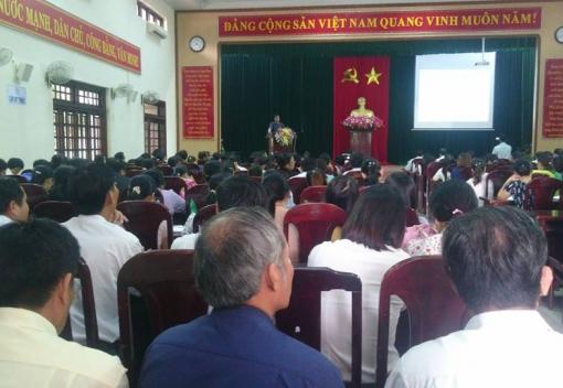 LĐLĐ huyện Hòa Vang tổ chức tập huấn cho lực lượng Công đoàn cốt cán