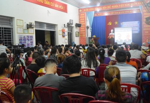Gần 300 CNLĐ dự nghe tuyên truyền, phổ biến pháp luật