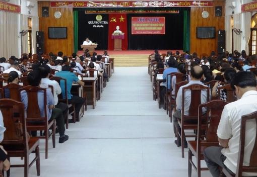 Sơn Trà: Hội nghị quán triệt Nghị quyết Hội nghị BCH TW Đảng