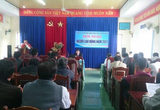 Công ty TNHH MTV Khai thác Thủy lợi Đà Nẵng tổ chức hội nghị NLĐ