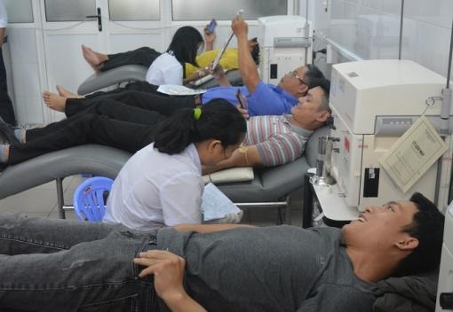 Ngành Công thương: Ngày hội hiến máu tình nguyện