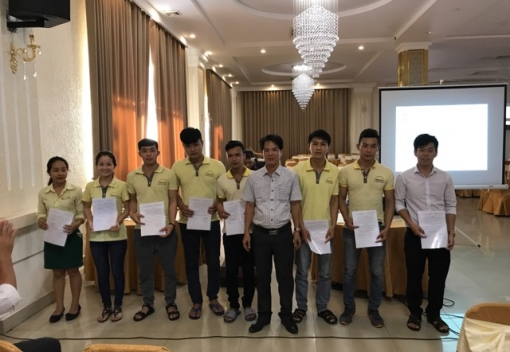 Thành lập CĐCS Công ty TNHH Châu Minh Việt