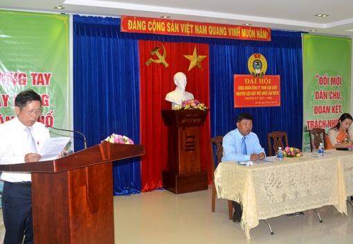 Công đoàn Công ty TNHH sản xuất nguyên liệu giấy Việt - Nhật (Vijachip) Đại hội lần thứ VIII