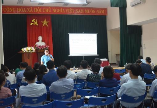 Công đoàn Viên chức triển khai tập huấn công tác tài chính Công đoàn