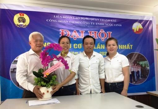 Thanh Khê: Đại hội CĐCS Công ty TNHH Ngọc Linh