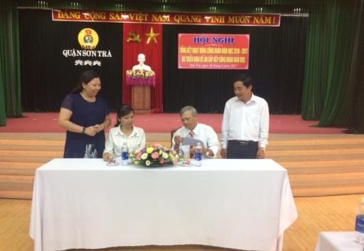 Sơn Trà: triển khai Đề án sắp xếp lại Công đoàn Giáo dục quận