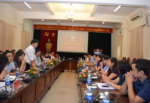 LĐLĐ TP Đà Nẵng thăm, trao đổi kinh nghiệm phát triển đoàn viên, thành lập Công đoàn cơ sở theo phương pháp mới tại LĐLĐ thành phố Hà Nội
