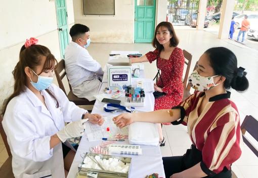Công đoàn CEP tổ chức kiểm tra sức khỏe định kỳ cho CBCNV