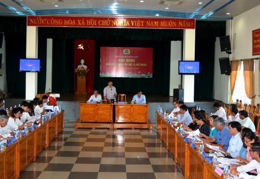 Hội nghị lần thứ 11 Ban Chấp hành Liên đoàn Lao động TP Đà Nẵng