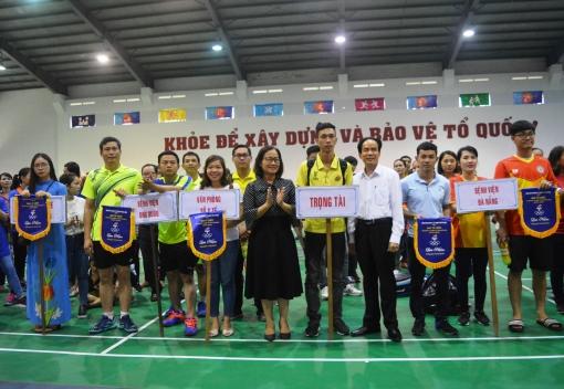 Ngành Ytế: tổ chức hội thao CNVCLĐ năm 2019