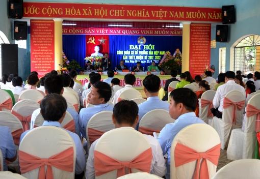 Công đoàn cơ sở phường Hòa Hiệp Nam Đại hội lần thứ V (Nhiệm kỳ 2017-2022)